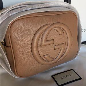 Beige Gucci Soho Bag 100% Authentic